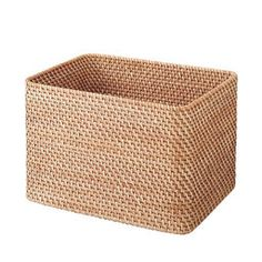 Rattan Stackable Rectangle Basket