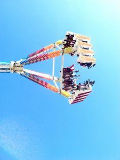 fun fair by thatstarupinthesky, via Flickr