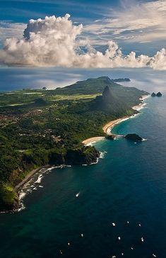 Fernando de Noronha Island, Pernambuco, Brasil.