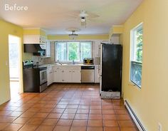 Before and After: A Ranch House Gets a Modern Kitchen Makeover