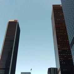 Good morning #Aon #skyline #downtownLA #citybluesky