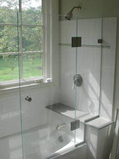 half shower door
