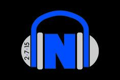 Headphones Logo Music Themed Bar Mitzvah Logo