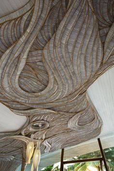 Siam by Eggarat Wongcharit A ceiling in Villa Siam, a private villa part of the Iniala Beach House complex, located in Phang Nga Province, Thailand. Designed in 2013 by Eggarat Wongcharit.Private Private or privates may refer to: Organic Architecture, Interior Architecture, Interior And Exterior, Interior Design, Fashion Architecture, Ceiling Art, Ceiling Design, Ceiling Ideas, Casa Magna