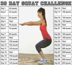 Squats Challenge #accepted