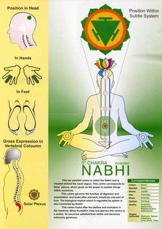 Nabhi Chakra - Position Within The Subtle System