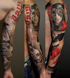 brazos tatuados enteros - Buscar con Google