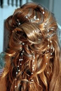 Wedding Hairstyle for longer hair