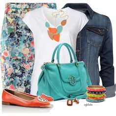 Tory Burch Bag and Shoes