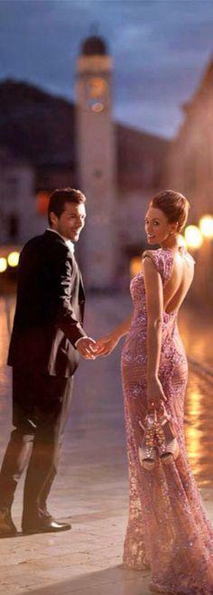 Todorovic, Marko - Barefoot Walk in Formal Dress (Dubrovnik- Adriatic Luxury Hotels- ad), 2012