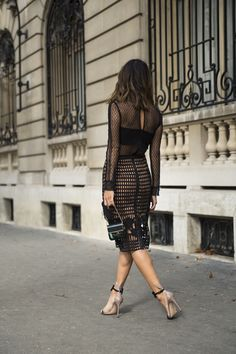 a self portrait dress that takes lbd to the next level. Date night just got an upgrade.