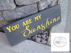 Handpainted You are my sunshine wood sign. by PixieDustLouisville