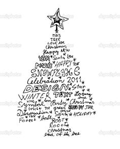 buy the royalty free stock vector image hand drawn christmas tree isolated on the white background online all rights included high resolution vect - Where To Buy Christmas Cards