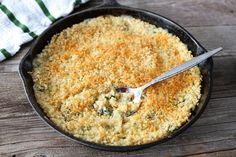 Quinoa Spinach Mac 'n Cheese.