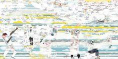 Pier Fichefeux - Fuji One – populært fototapet Kids Room Wallpaper, Photo Wallpaper, Wallpaper Companies, Photos Originales, Images Vintage, One Design, Fuji, Modern Wall, Wall Murals