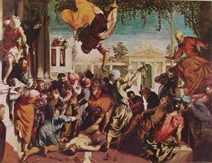Miracolo di San Marco, Tintoretto, 1548.