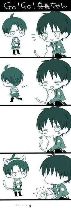 Imagen de levi, attack on titan, and eren