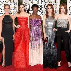 Golden Globe 2015: le più belle sul red carpet