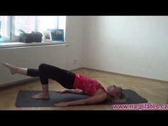 Na Pilates: Zadní strana stehen a hýždě pro začátečníky
