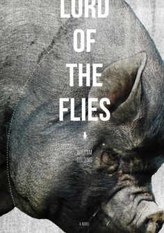 brilliant alternate cover to Lord of the Flies