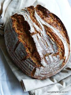 grain de sel - salzkorn: Backgewohnheiten: Bauernbrot mit Brühstück