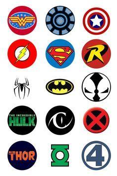 dc comics characters logos - Google Search