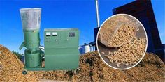 Roller rolling type pellet machine capacity is higher than die type pellet mill. So if you have different kinds of raw materials, you can start a pellet business by providing pellets for neighbors and farmers.