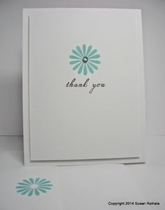 Simplicity: Thank-You Gift Set and More on Embellishment Storage