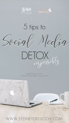 Small Business Social Media Management made easy! Use these 5 tips to rocking a social media detox to set your business up for success, today. Social Media Break, Social Media Detox, Social Media Tips, Earn Money From Home, Make Money Online, Home Based Business, Business Tips, Free Followers, Detox Tips