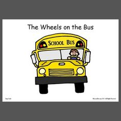 One page picture visuals of common songs: Wheels on the bus, Twinkle twinkle, 5 Little Ducks. Preschool Songs, Kids Songs, Speech Language Pathology, Speech And Language, Bus Safety, Path Ideas, Pediatric Ot, Wheels On The Bus, Music And Movement