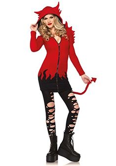 Leg Avenue Womens Cozy Devil Costume Red Small -- For more information, visit image link.
