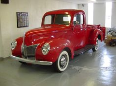 1940 FORD PICKUP Maintenance of old vehicles: the material for new cogs/casters/gears/pads could be cast polyamide which I (Cast polyamide) can produce Vintage Pickup Trucks, Old Ford Trucks, Antique Trucks, Vintage Cars, Antique Cars, Farm Trucks, 4x4 Trucks, Diesel Trucks, Lifted Trucks