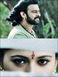 Baahubali2 Bahubali Movie, Bahubali 2, Bollywood Cinema, Bollywood Fashion, Actors Images, My Images, Prabhas And Anushka, Prabhas Pics, Hollywood Couples