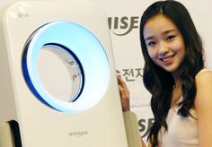 LG readies Whisen air conditioner with its own NFC-aware mobile app, direct voice recognition Home Appliances, Asia, America, Cooking, House Appliances, Kitchen, Domestic Appliances, Cuisine