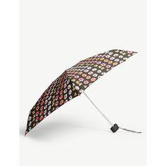 Fulton Tiny 2 Patterned Mini Compact Umbrella In Glitter Leopard Compact Umbrella, Good Hair Day, Fulton, World Of Fashion, Rihanna, Cool Hairstyles, Mini, Locks