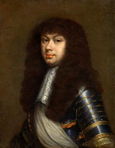 Portrait of Michael Korybut Wiśniowiecki in armour by circle of Daniel Schultz, ca. 1669, Pitti Palace in Florence. Michael Korybut was elected monarch of the Polish-Lithuanian Commonwealth from 29 September 1669 until his death in 1673. Identification by Marcin Latka (Artinpl). #kingofpoland#artinpl #17thcentury #portrait #1660sfashion
