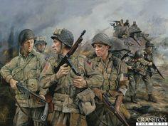 82nd Airborne by Chris Collingwood. (Y) Half Price! - £50.00...feb16