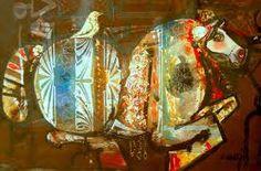 آثاری از دورههای مختلف کاری ناصر اویسی در موزه هنرهای معاصر