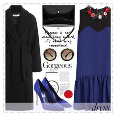 """On Trend: Two-Tone Dresses"" by alaria ❤ liked on Polyvore featuring MSGM, Marc Jacobs, IRO, Sergio Rossi, Miu Miu and twotonedress"