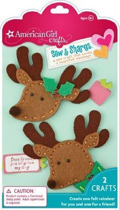 EKSuccess American Girl Crafts Sew and Shares, Reindeer: