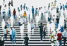 "Saatchi Art Artist Martta Garcia; Painting, ""Geografía humana"" #art Paintings For Sale, Original Paintings, Lovers Art, Cotton Canvas, Buy Art, Oil On Canvas, Saatchi Art, Contemporary Art, Frame"