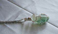 Hey, I found this really awesome Etsy listing at https://www.etsy.com/listing/179012329/fluorite-stone-wire-wrapped-pendant-the