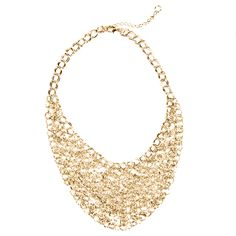 Cool necklace from Ohpi Umm Club boutique, Tessa Gold $42 shop the sale now www.ohpiummclub.kitsylane.com