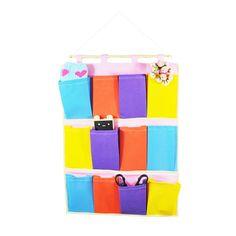 Amazon.com - Eli Fashion(TM) Home Closet Hanging Organizer Storage Bag 5/8/12 Pocket (12) -