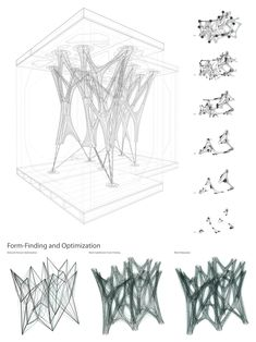 Cast Thicket, Winner of APPLIED Research Through Fabrication Competition, Now Completed In October of last year, we reported that the parametric design concept Cast Thicket had been selected as the winning entry of - architecture Parametric Architecture, Parametric Design, Architecture Drawings, Architecture Design, Concept Architecture, Architecture Diagrams, Architecture Portfolio, Futuristic Architecture, Parametrisches Design