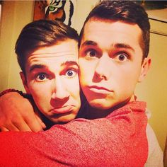MarkE Miller and Ethan Hethcote - these boys are too adorable not to get their own board so they've got their own board Same Love, Man In Love, First Love, Mark And Ethan, Cute Gay Couples, Youtube Stars, Lgbt Community, Love Life, Cute Guys