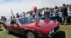 Even if the mist was thick enough to rival the Nürburgring, the scenes at the 2013 Pebble Beach Concours d'Elegance were simply breathtaking. Cathy Dubuisson visited the Concours on Sunday morning to capture the sights with her camera. Lamborghini Espada, Pebble Beach Concours, Concours D Elegance, Love Car, Golden Age, Cars Motorcycles, Mists, Wheels, Lovers