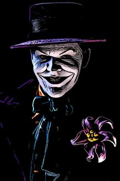 The Clown Prince Art Print by Jeremy Guerin. All prints are professionally printed, packaged, and shipped within 3 - 4 business days. Joker Art, Thing 1, Jack Nicholson, Comic Styles, Toys Photography, A Comics, Prince, Batman, Art Prints