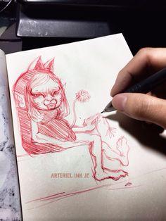 #臺灣#手繪#插畫#素描#evil#devil#journey#anatomy#caricature#artist#daily#doodle#taiwan#Kaohsiung#artwork#sketch#art#sketching#character#paint#graphic#painting#Graffiti#drawing#tattoo#monochrome#JC#banner#cat#lover
