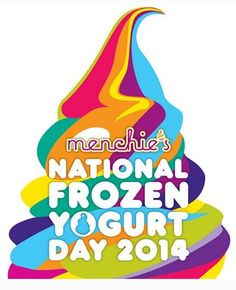 Thursday, February 6th is National Frozen Yogurt Day, and Menchie's is celebrating by giving away 6 oz FroYo all day. Stop by! #froyo #frozenyogurt #menchies
